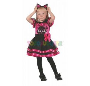 Disfraz gatita Kitty niña...