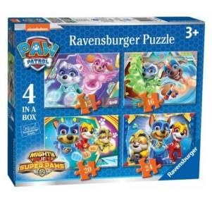 Puzzle 4 en 1 Paw Patrol