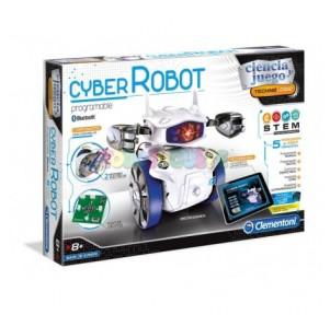Ciencia y juego cyber robot
