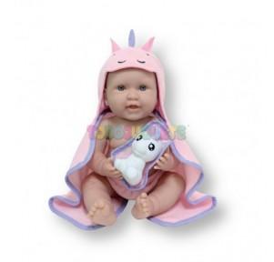 Muñeca New Born Unicornio 43cm