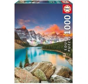 Puzzle 1000 Lago Moraine,...