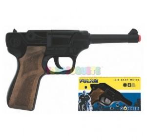Pistola Luger negra 8 tiros