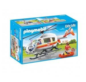 Helicóptero médico de...