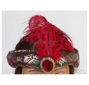 Sombrero Hindú con Pluma...