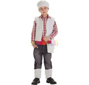 Disfraz infantil pastor t.s...