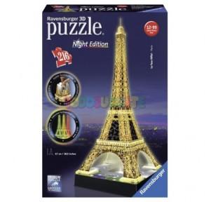 Puzzle 3D Torre Eiffel con...