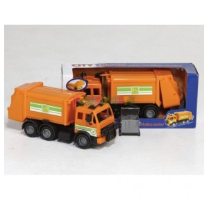 Camión de la basura city 28 cm