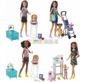 Barbie canguros y bebés...