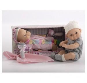 Muñeco bebé acostado con...