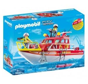 Barco de rescate Playmobil