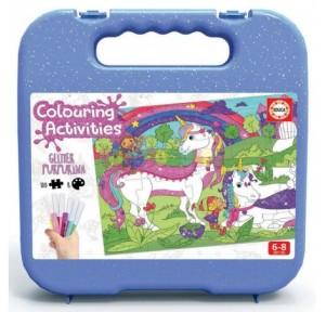 100 Unicornios Colouring...