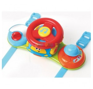 Volante musical baby race...