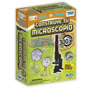 Construye tu microscopio Artec