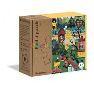 Puzzle 60 piezas Encuentra:...