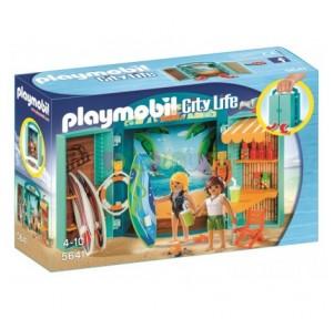 Cofre Tienda Surf Playmobil