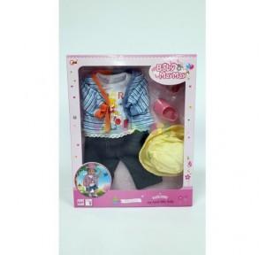 Conjunto ropa muñeco...