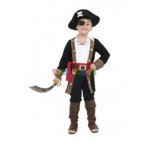 Disfraz Pirata Casaca negro...