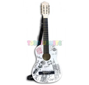 Guitarra madera 85cms...