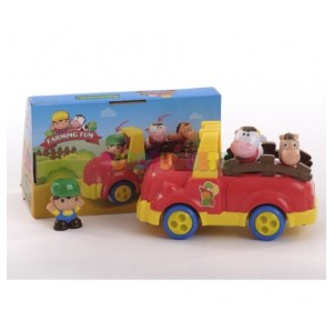 Vehículo granja camioneta 2...