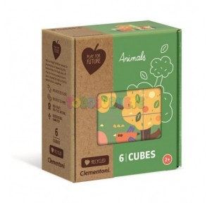 Rompecabezas 6 Cubos...