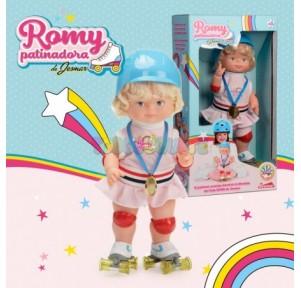 Muñeca Romy Patinadora  Jesmar