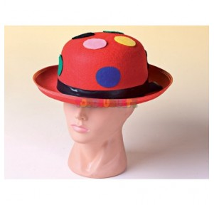 Sombrero bombín payaso...