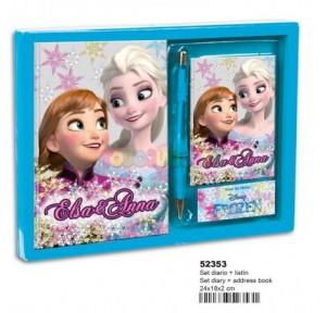 Frozen Shining set diario +...