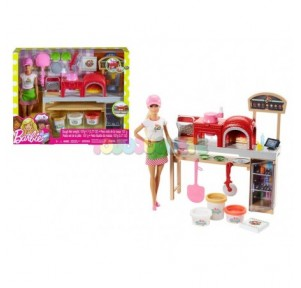Muñeca Barbie Pizza Chef
