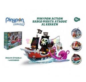 Pin y Pon Action Barco Pirata