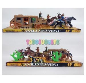 Mini Set Figuras del Oeste...