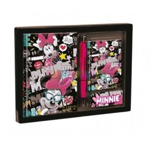 Minnie Journal set diario y...