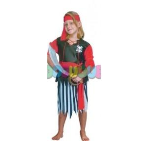 Disfraz Pirata Chica  7-10...