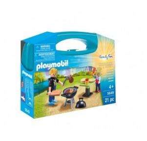 Maletín barbacoa Playmobil