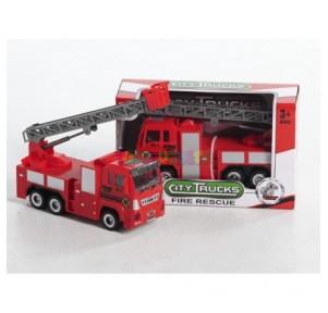 Camión bomberos rescue city...