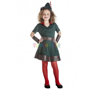 Disfraz Robin Hood niña...