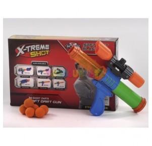 Pistola de bolas con 6...