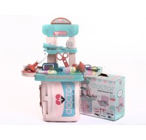 Set doctor Little Doctor mini Maleta rosa