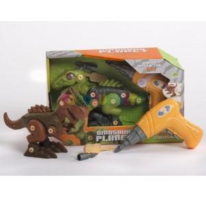 Dinosaurio con Destornillador Planet Assemble Sdos