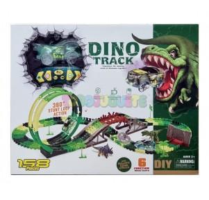 Pista Dinosaurio Dino Track Adventure 360º 158 pzs