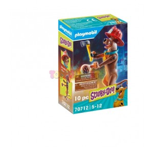 Scooby-Doo! Figura Bombero Playmobil