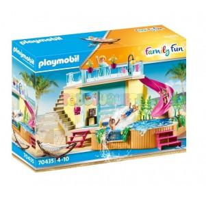 Bungaló con piscina Playmobil