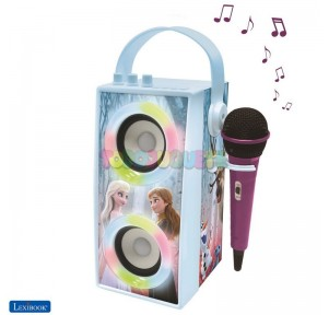 Altavoz Bluetooth portátil con micrófono Frozen 2