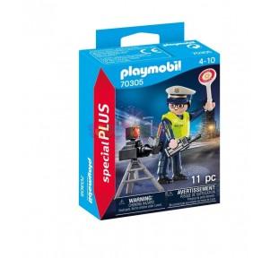 Policía con Rádar Playmobil