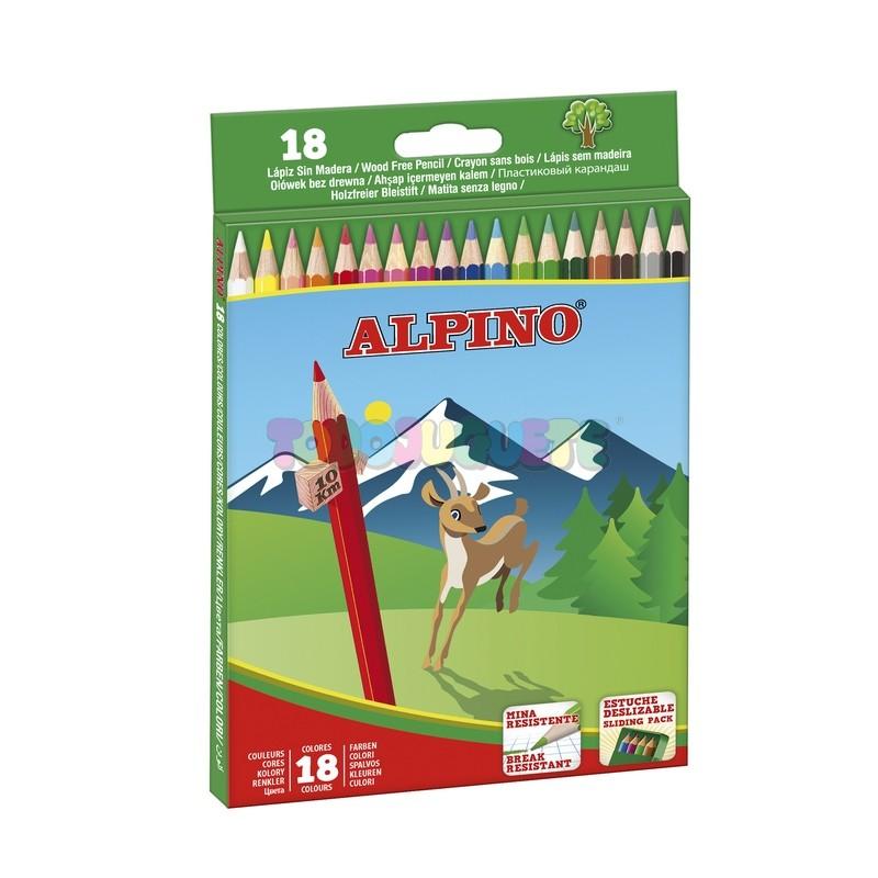 Caja 18 colores Alpino
