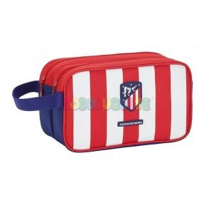 Neceser 2 cremalleras Atlético de Madrid adaptable