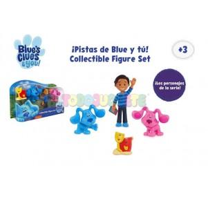 Pistas de Blue y Tú collectible figure set